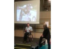 Aron Andersson, paraolympiker och motivationstalare