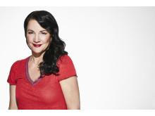 Sofia Wistam är programledare för Temptation island som har säsongsstart den 1 oktober 21:00 i Kanal 5. Foto: Magnus Ragnvid/Kanal 5