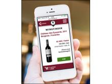 Winefinders web-app