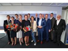 """Referenten und Veranstalter des Symposiums """"Innovations in Oncology"""""""