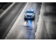 Volvo V90 som polisbil får högsta betyget hittills