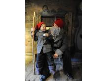 Julstök på Kulturen i Lund – tomte och tomtenisse