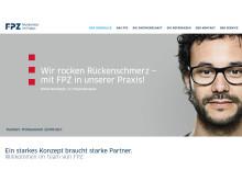 Die https://partner-werden.fpz.de für Interessenten zur Gründung eines FPZ Therapiezentrums