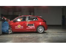 Vauxhall Corsa frontal offset impact test November 2019