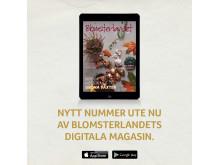 Nytt nummer ute nu av Blomsterlandets Digitala Magasin!