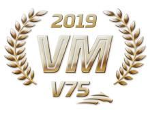 VM i V75 2019 logga