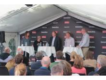 """Panalen under seminariet """"Politik och företagande - var finns långsiktigheten"""" i Almedalen"""