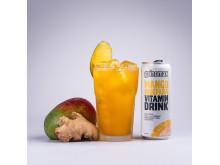 Vitamin Drink Mango-Ingefära 330ml