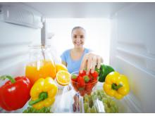Ruokien säilytys jääkaapissa