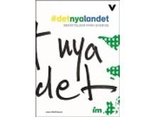 Omslag: Det nya landet - berättelser från Sverige