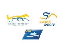 Logotype Svensk Travsport, Svensk Galopp och ATG