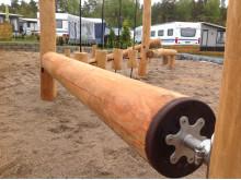 Woodwork AB - rullande balansbom hos Daftö Resort