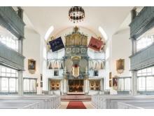 Innenansicht der Kirche Bergstadens Ziir