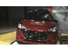 DS 3 pole crash test Dec 2017