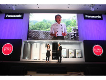Ms. Minh Nhat, Masterchef Vietnam Winner Shares Her Passion on Cooking at the Panasonic Dealer Convention in Hanoi