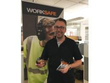 MartinLinden visar upp Worksafe Cheetah Small