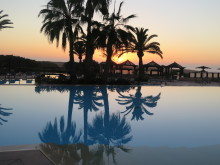 Abendstimmung im Robinson Club Agadir