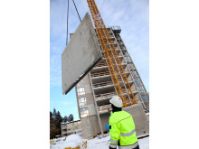Montage av prefabricerade betongelement