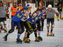 Stockholm Allstars vs Rainy City Rollergirls
