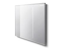 Spolplatta Geberit Sigma70, vitt glas