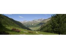 Urlaub in der Abgeschiedenheit eines Alpentales