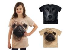 Big Face T-shirts för barn