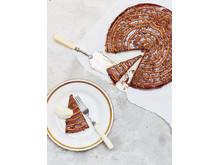 Mandel- och mjölkchokladtårta från Fredagskockens helgmenyer