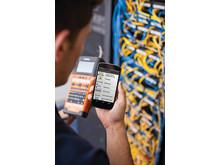 P-touch E550WSP -kampanjatarratulostimessa on sisäänrakennettu Wi-Fi, joka mahdollistaa mobiilitulostamisen älypuhelimelta tai tabletilta. Brother on kehittänyt monia tarratulostamista helpottavia appseja.