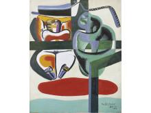 Le Corbusier, Baigneuse, barque et coquillage.