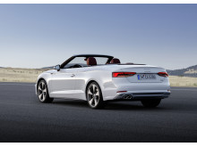 Audi A5 Cabriolet i glacier white