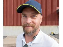 Simon Fredman på Porschecenter.