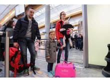 Familieslusen på Avinor Oslo lufthavn
