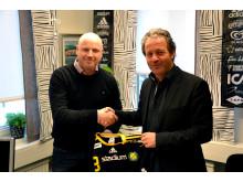 Exklusivt avtal mellan Stadium och Sävehof