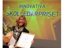 Birgitta Trolin, vinnare av Innovativa skolledarpriset 2013.