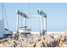 Hi-res image - Karpaz Gate Marina - The Karpaz Gate Marina Technical Centre features a 300-ton capacity travel lift and 18,000 square metre dry dock area