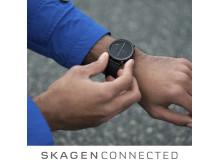 Hold deg oppdatert med Skagen Connected