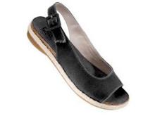Söt sandalett i canvas