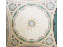 Ceiling in exhibition hall