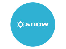 Snow Software logo - blue
