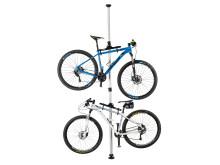 Platsbesparande förvaring på höjden – PELA cykelställ hos Verktygsboden