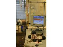 Aferesmaskin för skörd av blodstamceller inför transplantation