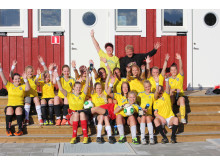 Hossmo BK - ambassadörslag i Kalmar under UEFA Dam-EM