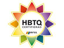 Symbolen för HBTQ-certifiering