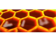LiU textat med molekyler