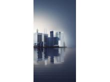 Blueair skyline
