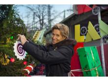 Lotta Carlsbogård är projektledare för Jul på Liseberg