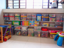 How to rein in the toy clutter