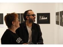Filmen Leviathans regissör Andrey Zvyagintsev besöker utställningen I Offrets fotspår på Närholmen