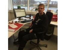 Markus Bylander, logistikchef, Star Trading