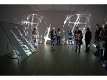 """Videoinstallationen im Rahmen der Ausstellung """"Gedanken Raum geben"""" im GRASSI Museum für Angewandte Kunst Leipzig"""